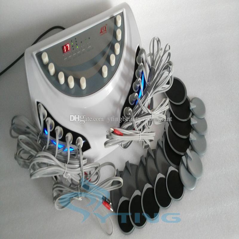 家庭用赤外線電気筋肉刺激機EMSロシアの波動刺激装置体重損失アンチセルライト