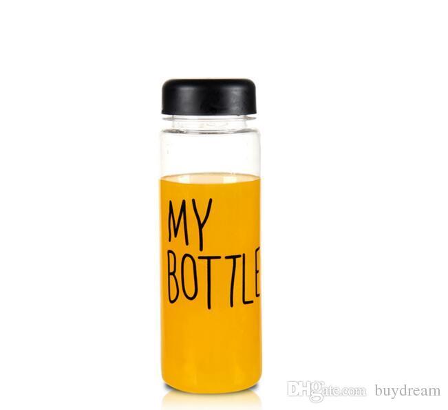 Transhome My Korean Bottle Water Bottle 500ml My Color Dinrkware