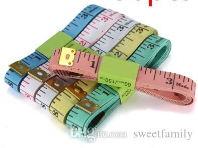 Soft Ruler Material Sewing Machine Body Measuring Tape Cloth Sewing Ruler And Tailor Of Tape Measure Body Tape 150CM