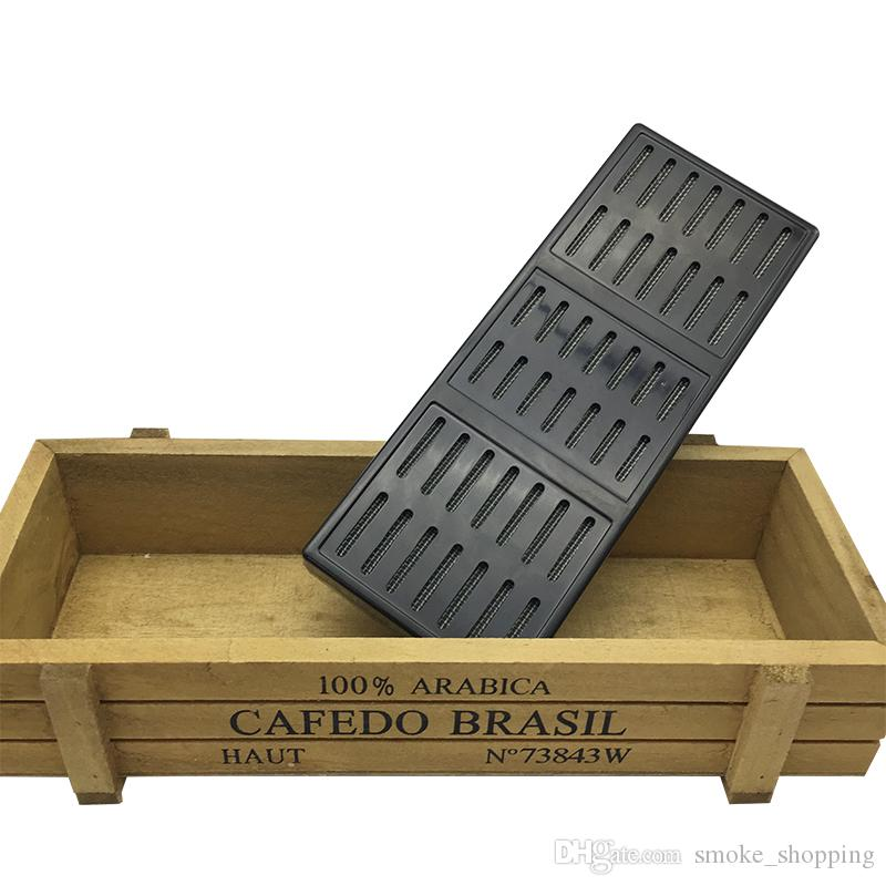 New product humidor rectangular portable smoking cigar Tobacco humidifier tobacco strip cigar tool cigarette box wholesale
