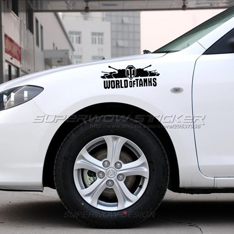2018 World Of Tanks Car Modified Decorative Car Stickers Tank