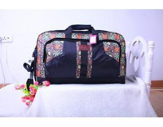 Nylon Big Travel Handbag Waterproof Luggage Oxford Bag Fashion Printing  Travel Capacity Portable Bag Geometry Package Womens Bags Black Handbag  From Lasangy ... c1a9ce7bb3be0