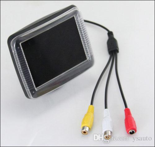 Macchina fotografica di retrovisore dell'automobile Sistema di assistenza di parcheggio intelligente PZ601 PZ602 3.5 pollici 4: 3 Digital Camera Pixal 648 * 488 DHL libero