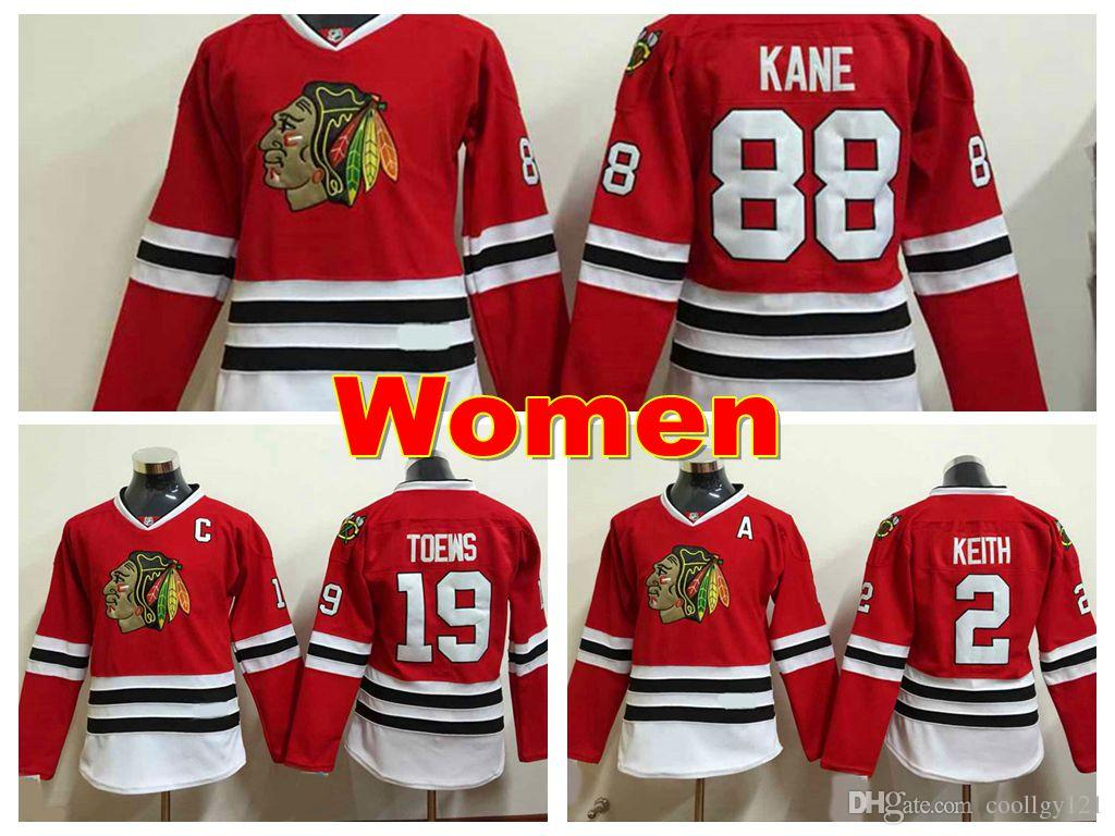 ... australia 2019 womens chicago blackhawks jerseys 19 jonathan toews  jersey 2 duncan keith 88 patrick kane c630ff05f