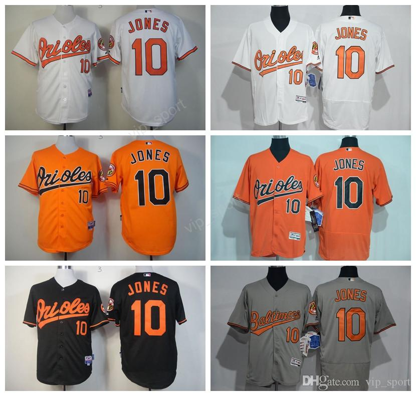 50db88e8a7b ... ireland stitched mlb jersey 2017 baltimore orioles 10 adam jones jersey  flexbase cool base for sport