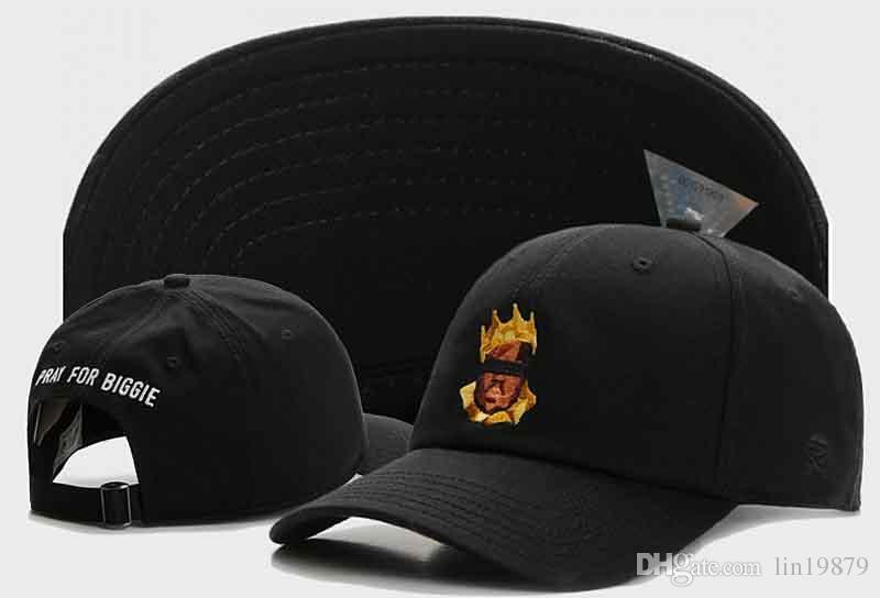 f3bcb280273 Cayler   Sons PRAY FOR BIGGIE Adjustable Strapback Snapback Caps 6 Panel  Casquettes Chapeus Baseball Hats For Women Sports Hip Hop Custom Trucker  Hats ...