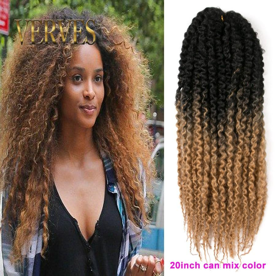 wholesale twist mambo twist crochet braids hair afro