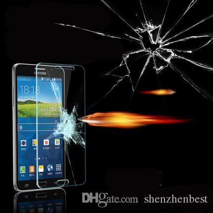 Protecteurs d'écran de verre trempé de Transmittance élevé pour l'explosion / de Samsung 2016 J1 / J2 / J3 / J5 / J7 / J1mini / J210 / J510 / J710