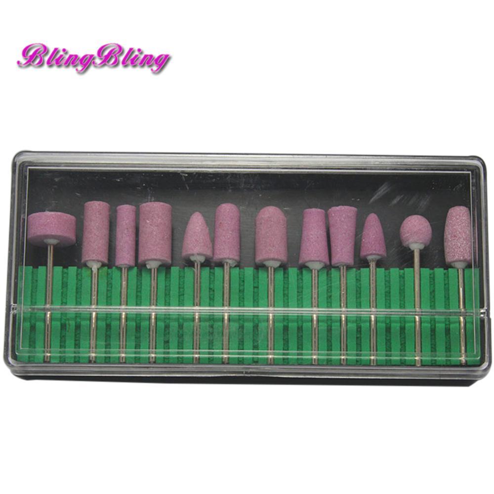 Wholesale- Ceramic Nail Drill Bits Electric Manicure Head ...