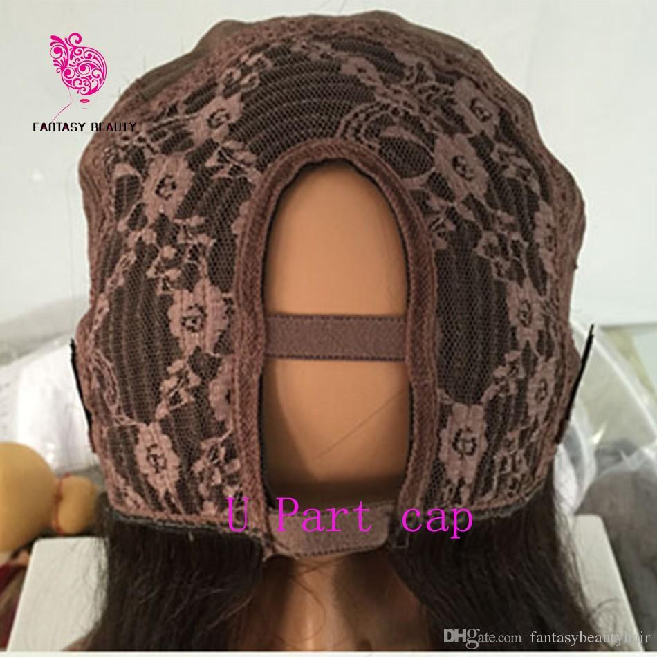150 Density Silky Straight U Part Wig For Sale Human Hair Natural Peruvian Virgin Hair Upart Wig Straight U-part Wig