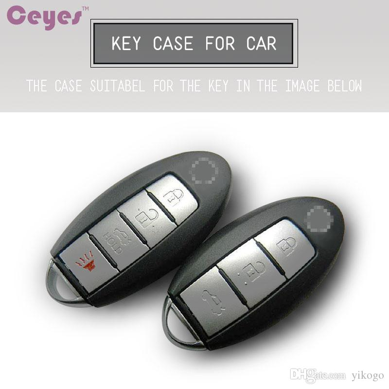 TPU سيارة مفتاح شل البعيد حالة لنيسان إنفينيتي G25 G37 FX37 FX35 EX35 غطاء مفتاح السيارة التصميم