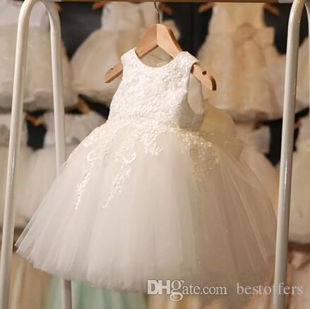 8d82c00d3d94 Beautiful Princess Ball Gown Flower Girl Dresses Short Summer Appliqued  Tulle Kids Party Wedding Formal Wear Gowns Cheap MC1048 Green Flower Girl  Dress Grey ...
