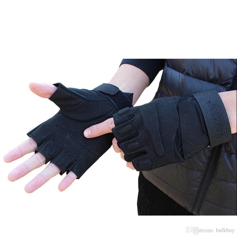 ад шторм сша спецназ тактические перчатки на открытом воздухе боевые противоскользящие черные полупальцевые перчатки оптом