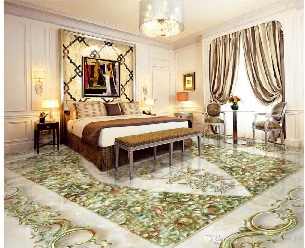 chinese flowers and birds peony stone relief 3d floor tiles, Badezimmer ideen