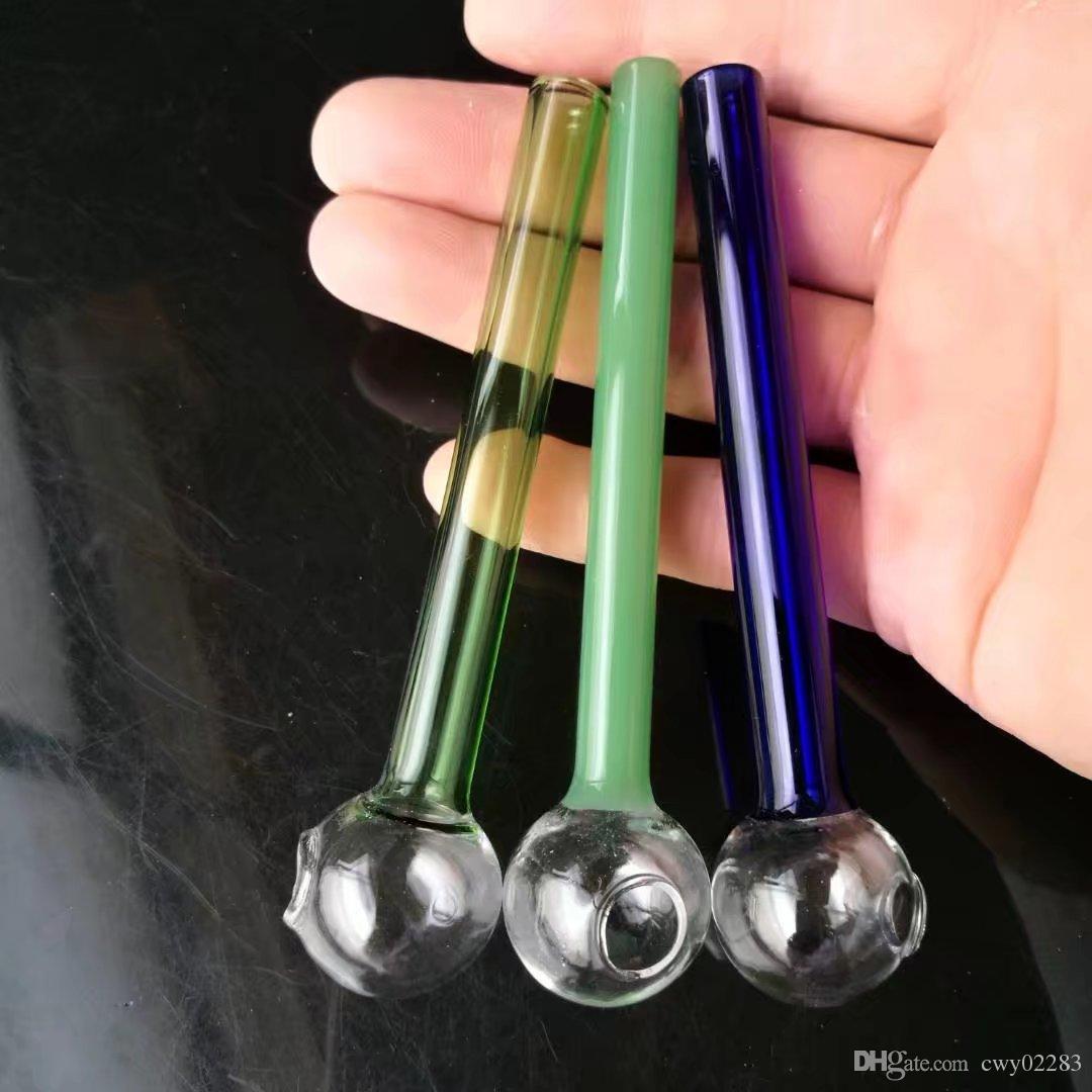 Курительные принадлежности Стеклянная трубка Helix, аксессуары для стеклянных бонгов Уникальная масляная горелка Стеклянные трубки Водопроводные трубы Стеклянные трубки Буровые установки для курения