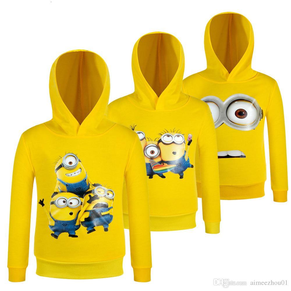 61dbb6da5 2019 2017 Children Minions T Shirt Kid Girls Boys Clothes Long Sleeve T  Shirt Child Clothing Casual Top Tees Spring Sport Roupas Infantis Menino  From ...