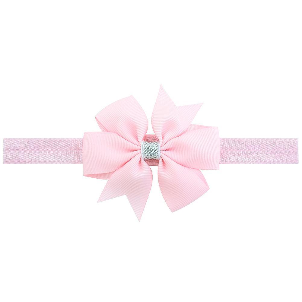 Baby Girls Bow Headbands Infants Ribbon Bow Bowknot Elastic Hair Accessories Kids Fashion Princess Hairbands Children Headdress