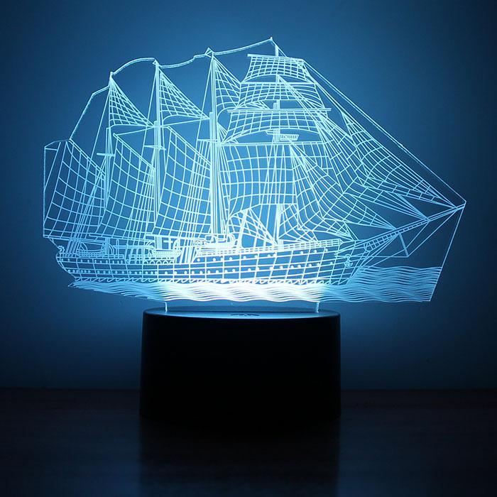 Led L'explosion La Intelligente Petits Cadeaux Voile Usb Lumière Creative Nuit Ameublement De Neutre Lampe 3d XPkZTwuOi
