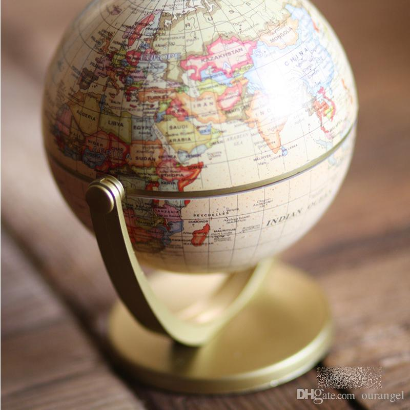 Retro desktop political globe geography world map tellurion retro desktop political globe geography world map tellurion ornaments for home office decor craft gift for friend children funny unusual gifts funny gumiabroncs Choice Image
