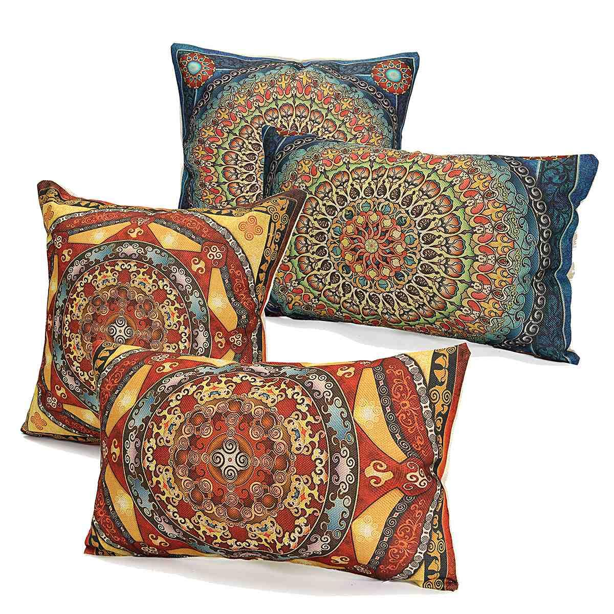 wholesale cotton linen pillow case square cushion rectangle covering fabric wedding home lover. Black Bedroom Furniture Sets. Home Design Ideas
