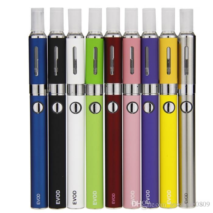 Doppel MT3 EVOD Starter Kit EVOD Batterie MT3 Zerstäuber E Zigarette EVOD MT3 reißverschluss fall kit Dhl-freies verschiffen