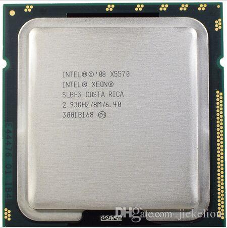 X5570 Original Intel Xeon X5570 processor 2.93GHz 8MB 6.4GT/s Quad-Core LGA1366 Server CPU