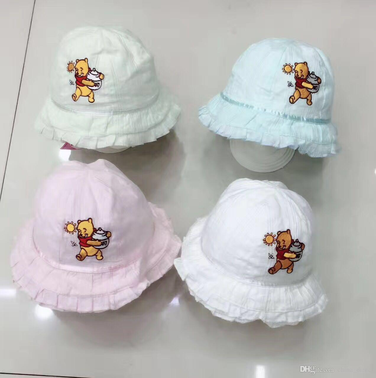 Mieszane Design Niemowlę Dziewczynka Sunhat Hat Cap Sun Hat / New