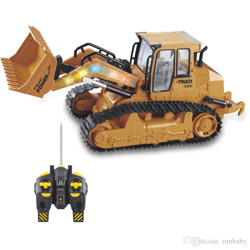 large rc truck bulldozer 6ch caterpillar track remote control