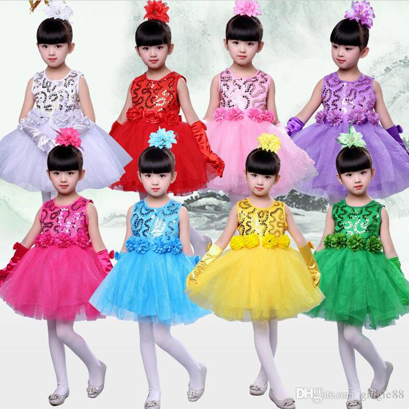 2018 baby kids princess christmas dresses for girl party