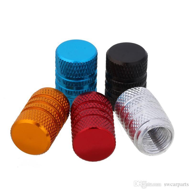 Aleación de aluminio Rueda de coche Tapas de neumáticos Ruedas Automóviles universales Válvula metálica Válvula automática Vástago Cubiertas de polvo Accesorios para automóviles