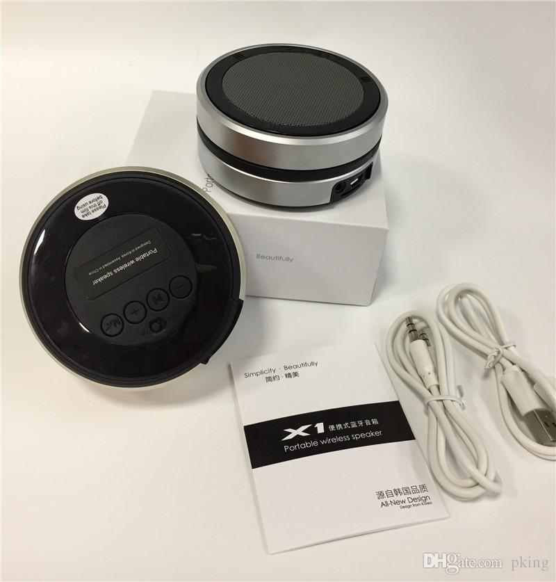 X1 Bluetooth Wireless Speaker Camera Mini Portable Bass Subwoofers Handsfree Mic TF Card Loud Speakers Music Player for Phones