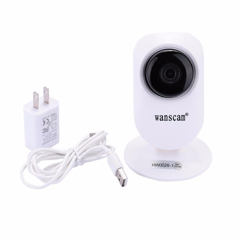 Wholesale- Wanscam HD 720P IP Camera Smart CCTV Security Serveillance P2P Network Baby Monitor Wireless Indoor Security Home Durable