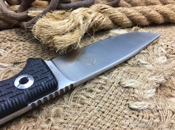 Новейшие Pohl силы холодной стали фиксированной лезвие ножа, D2 стали открытый тактический нож, выживания кемпинг инструменты, коллекция охотничьих ножей