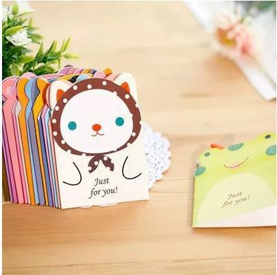 Wholesale party supplies cartoon invitation card with simple wholesale party supplies cartoon invitation card with simple envelope folding write paper birthday party cute mini greeting card paper house cards card m4hsunfo