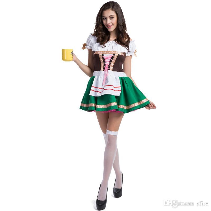 Plus Size Good Quality Oktoberfest Costumes Traditional German Bavarian Beer Male Cosplay Halloween Octoberfest Festival Party Clothes