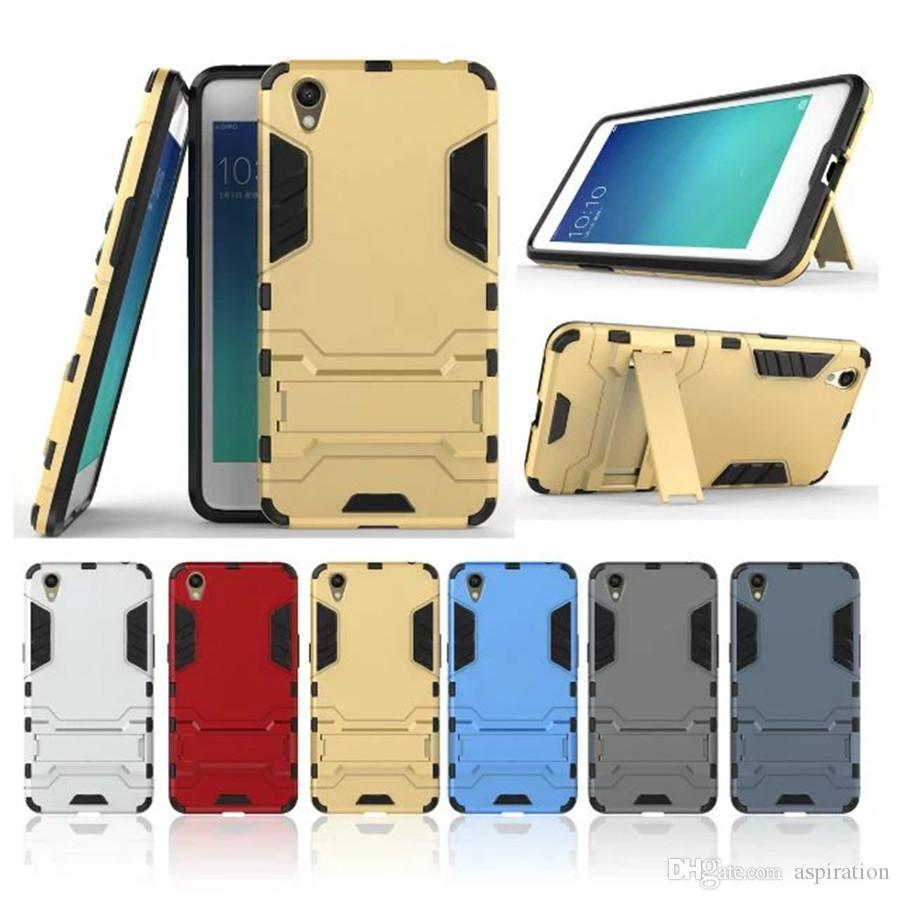 separation shoes ec622 493bc Hard Back Cover for OPPO A37 Armor Hybrid Heavy Duty Protection and Air  Cushion Techonology Protective Shell Shockproof Case with Kickstand