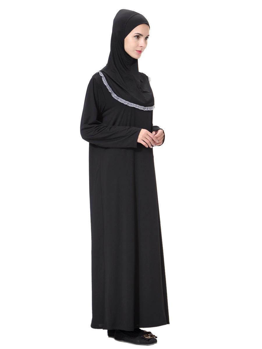 Musulmano Hui Nazionalità Arabia Robes Abito Musulmano delle Donne Nuovi Abiti Allentati Con Fazzoletto Da Preghiera Vestito Costume Etnico Abiti All'ingrosso