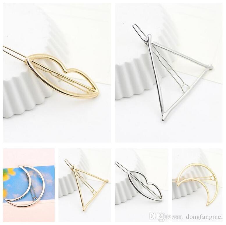Mejor regalo Nueva pinza de pelo de cinco puntas con clip de 8 puntas en forma de estrella Liuhai carpeta de clip de ranas FJ029 orden de la mezcla 60 piezas mucho