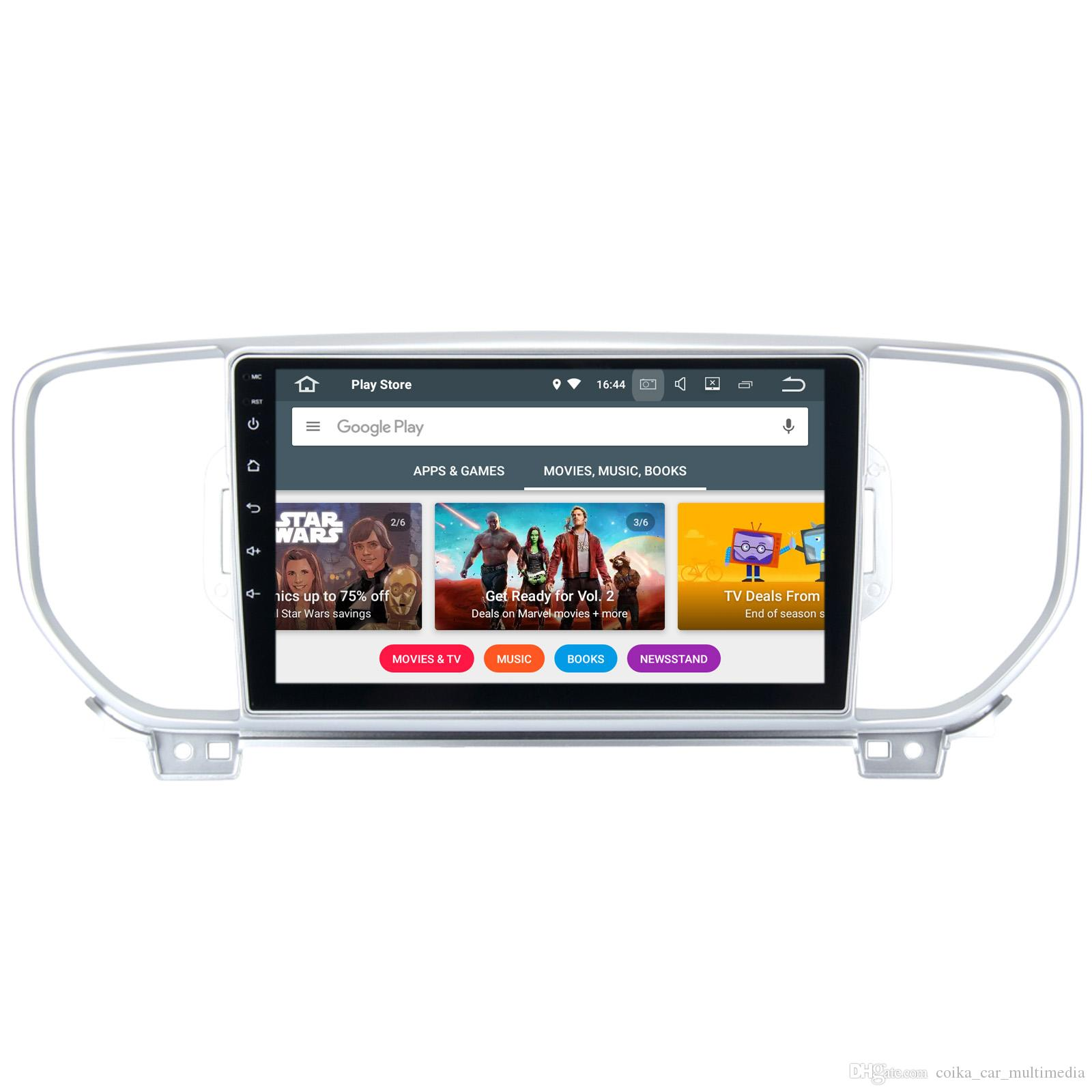 9 android 7.1 car dvd radio player for kia sportage 2015 2016 with