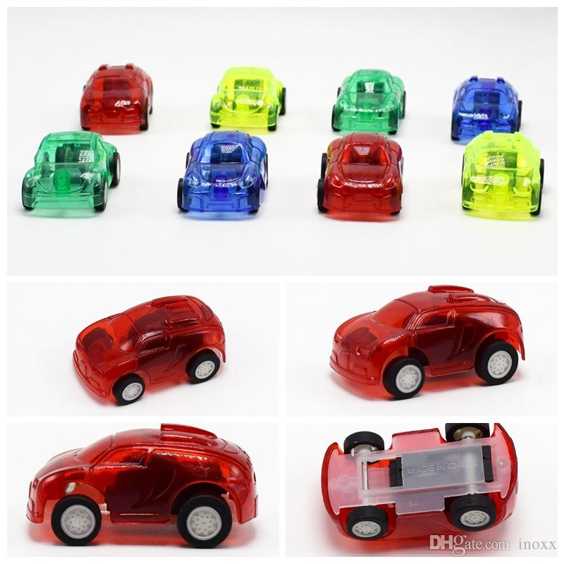 2018 Hot Mini Tansparent Car Toys Set Pull Back Car Toy Children ...