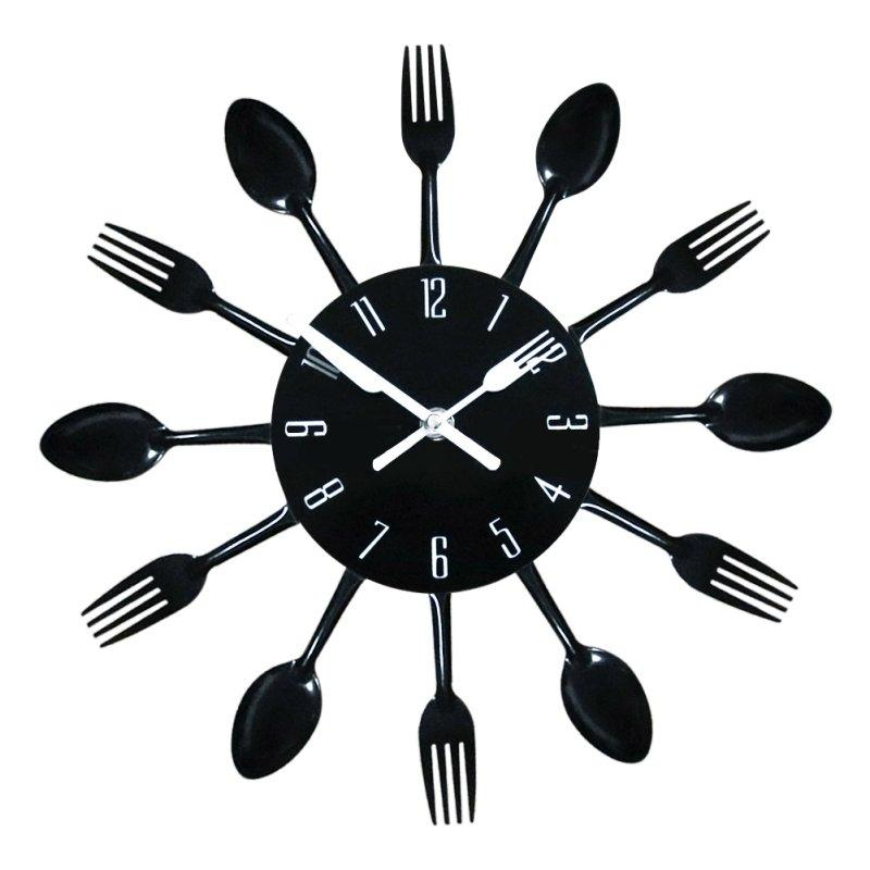 Wholesale Home Decoration 3d Wall Clock Modern Stainless Steel Kitchen Wall  Watch Quality Quartz Needle Clock Kitchen Clocks Kitchen Clocks For Sale  From ...
