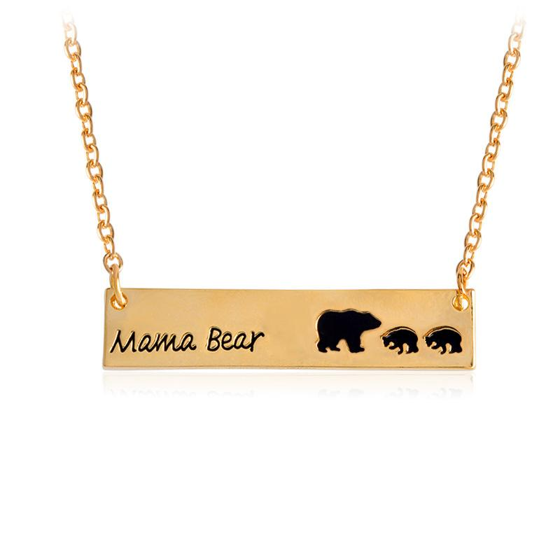 Wholesale 3 style mama bear necklace new mom necklace gifts for mom wholesale 3 style mama bear necklace new mom necklace gifts for mom gift for wife mothers day enamel bear mom personalized jewelry pendants for necklace aloadofball Images