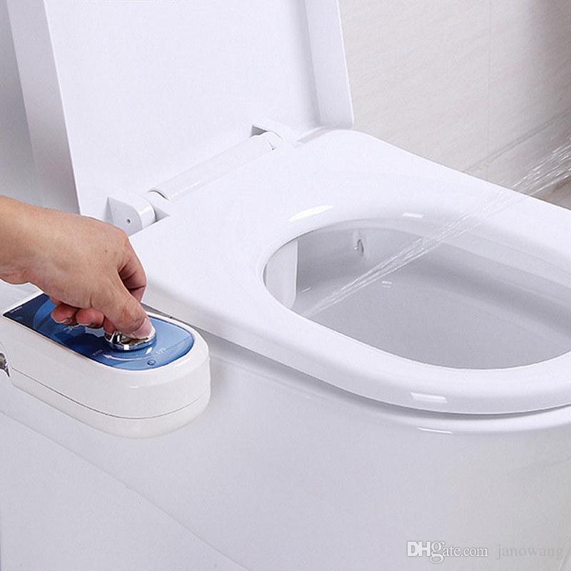2018 Portable Toilet Bidet Nozzle Sprayer Non Electric
