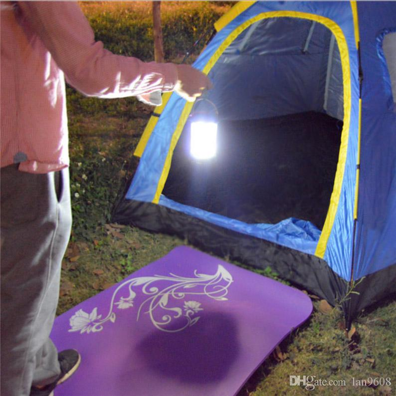 Led waterproof camping lights tents high quality portable suspension outdoor camping burst flash first aid 3D light