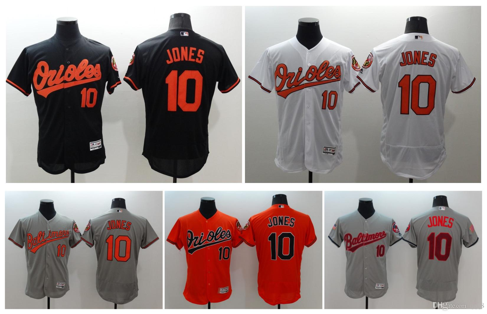 size 40 9e7d0 02f14 baltimore orioles 10 adam jones orange flexbase authentic ...