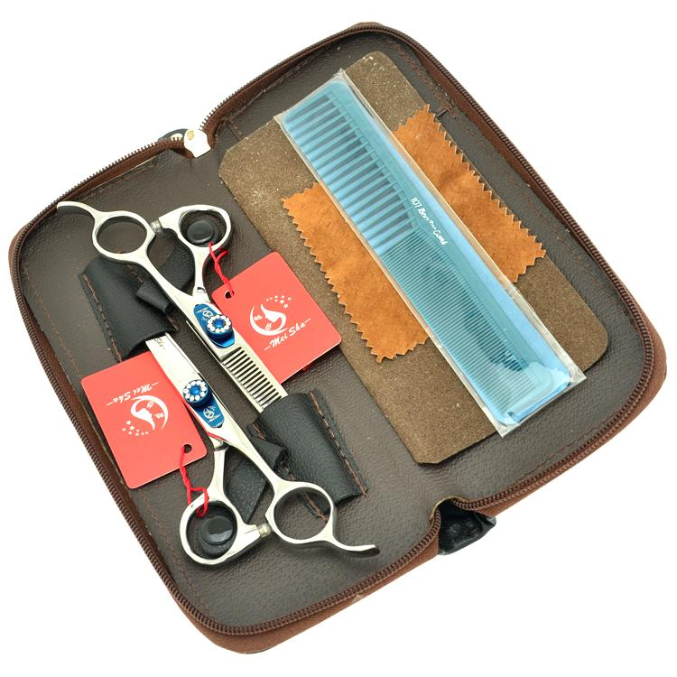 6.0Inch MeiSha JP440C Salon Hair Cutting Scissors Thinning Shears Professional Hairdressing Scissors Set Best Hair Shears,HA0255