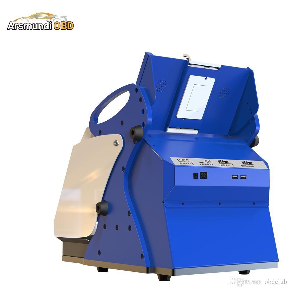 High Quality Full-Automatic Car Key Cutting Machine SEC-E9z CNC automatic key cutting machine Multi Language
