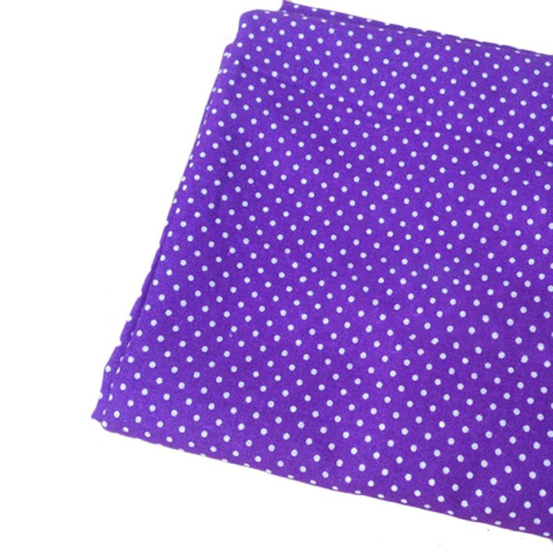 Purple Cotton Fabric Cloth DIY Handmade Home Decor Quilting Material Cheap Fabrics For Patchwork Sewing 25x25cm