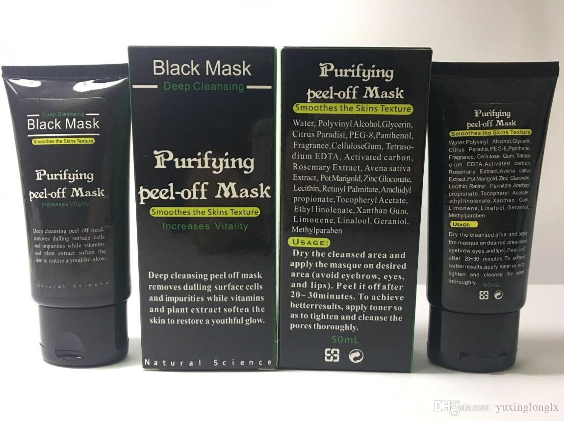Blackhead Remove Facial Masks Deep Cleansing Purifying Peel Off Black Nud Facail Face black Mask Skin Care Peel