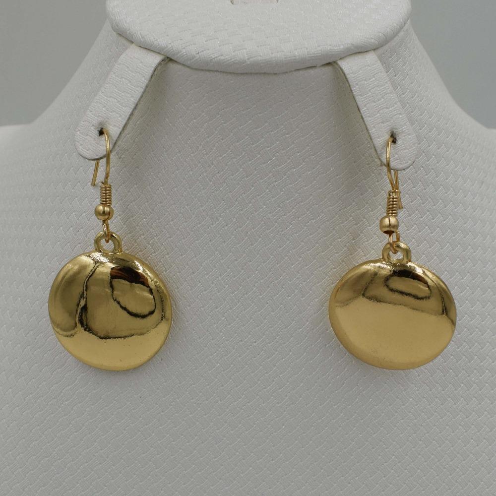 Set di gioielli di alta qualità moda Italia 750 orecchini in oro collana pendente i set festa di nozze